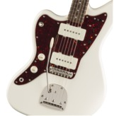 Fender Squier Classic Vibe '60s Jazzmaster, Left-Handed, Olympic White, Laurel
