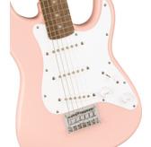 Fender Squier Mini Stratocaster, Shell Pink, Laurel