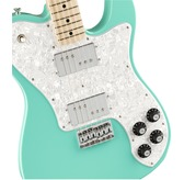 Fender Limited Edition Traditional 70's Telecaster Deluxe, Sea Foam Green, Maple