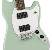Fender Squier FSR Bullet Mustang HH, Surf Green, Laurel