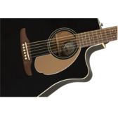 Fender Redondo Player Electro Acoustic Guitar, Jetty Black