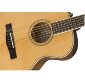 Fender Paramount PM-TE Standard Natural, Ovangkol Electro Acoustic Travel Guitar