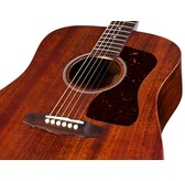 Guild USA D-20 Acoustic Guitar, Natural