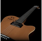 Godin A6 ULTRA Natural SG Electro Acoustic Guitar & Case