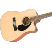 Fender CD-60SCE Dreadnought Electro Acoustic 12-String Guitar, Natural, Walnut