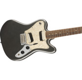 Fender Squier Paranormal Super-Sonic, Graphite Metallic, Laurel