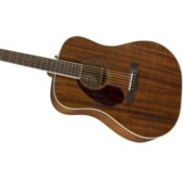 Fender Paramount PM-1 Left-Handed NE Acoustic Guitar, Natural, Rosewood B-Stock