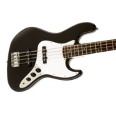 Fender Squier Affinity Series Jazz Bass, Black, Laurel