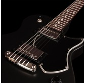 Godin Summit Classic SG - Matte Black, Rosewood Electric Guitar & Case