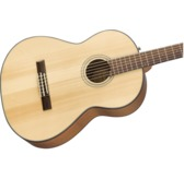 Fender CN-60S Nylon Classical Guitar, Natural, Walnut