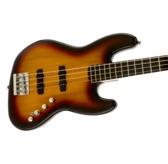Fender Squier Deluxe Jazz Bass Active IV, 3-Colour Sunburst, Ebonol