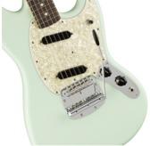 Fender American Performer Mustang, Satin Sonic Blue, Rosewood