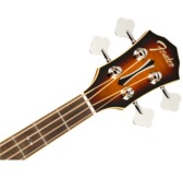 Fender FA-450CE Electro Acoustic Bass Guitar, 3-Colour Sunburst, Laurel