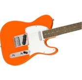 Fender Squier Affinity Series Telecaster, Competition Orange, Laurel