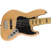 Fender Squier Classic Vibe '70s Jazz Bass V, Natural, Maple