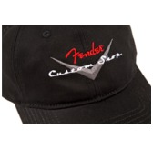 Fender Custom Shop Baseball Cap Hat, Black, One Size Fits Most