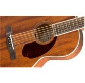 Fender Paramount PM-2 NE Natural, Rosewood Acoustic Guitar