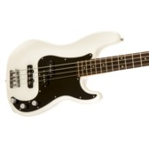 Fender Squier Affinity Series Precision Bass PJ, Olympic White, Laurel