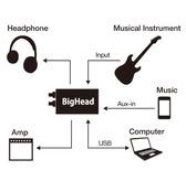 Phil Jones Bass Bighead HA-1 Headphone Amplifier & Digital Audio Interface