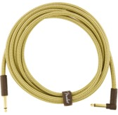 Fender Deluxe Series Instrument Cable, Straight/Angle, 10', Tweed