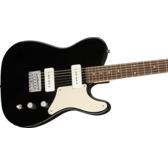 Fender Squier Paranormal Baritone Cabronita Telecaster, Black, Laurel