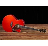 Gretsch G5022CE Rancher Jumbo Cutaway, Savannah Sunset Electro Acoustic Guitar