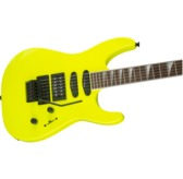 Jackson X Series Soloist SL3X DX, Neon Yellow, Laurel