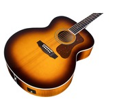 Guild Westerly F-250E Deluxe Electro Acoustic Guitar, Antique Sunburst