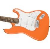 Fender Squier Affinity Series Stratocaster, Competition Orange, Laurel