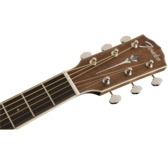 Fender Paramount PM-TE Natural, Ovangkol Electro Acoustic Travel Guitar