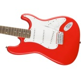 Fender Squier Affinity Series Stratocaster, Race Red, Laurel