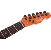 Fender Squier Affinity Series Telecaster HH FSR, Metallic Orange, Laurel