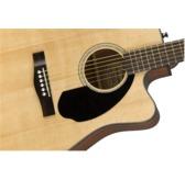 Fender CD-60SCE Electro Acoustic Guitar, Natural, Walnut