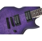 Jackson JS Series Monarkh SC JS22Q, Transparent Purple Burst, Amaranth