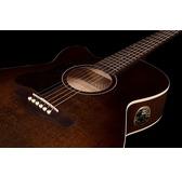 Art & Lutherie Legacy CW Left-Handed Electro Acoustic Guitar - Bourbon Burst