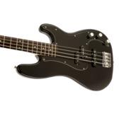 Fender Squier Affinity Series Precision Bass PJ, Black, Laurel