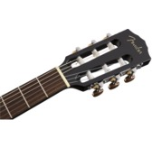 Fender CN-60S Nylon Classical Guitar, Black, Walnut