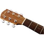 Fender CD-60SCE Left-Handed Electro Acoustic Guitar, Natural, Walnut