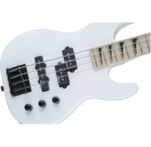 Jackson JS Series Concert Bass Minion JS1XM, Snow White, Maple