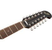 Fender Villager 12-String Electro Acoustic Guitar, Black