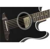 Fender Standard Stratacoustic Electro Acoustic Guitar, Black, Walnut