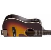 Traveler Guitar AG-450E Electro-Acoustic Travel Guitar, Sunburst