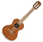 Lanikai MA-8T Mahogany Tenor Eight String Ukulele With 5mm Gig Bag