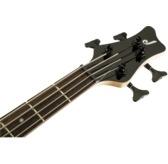 Jackson JS Series Spectra Bass JS2, Gloss Black, Laurel