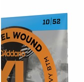 D'Addario EXL140 Nickel Wound Electric Guitar Strings, Light Top/Heavy Bottom, 10-52
