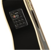 Fender Kingman Electro Acoustic Bass Guitar, Black, Walnut