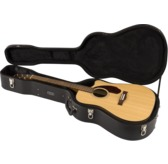 Fender CD-140SCE Dreadnought Electro Acoustic Guitar & Hard Case, Natural