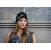 Fender Logo Beanie Hat, Black, One Size