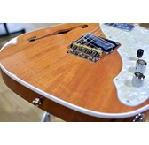 Fender American Elite Mahogany Tele Thinline, Natural, Maple