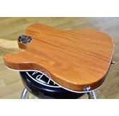 Fender American Elite Mahogany Tele Thinline, Natural, Maple